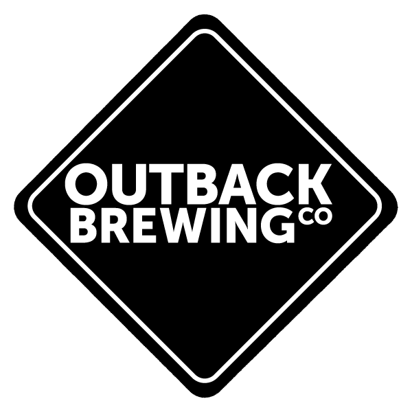 Outback Brewing flat Black Logo