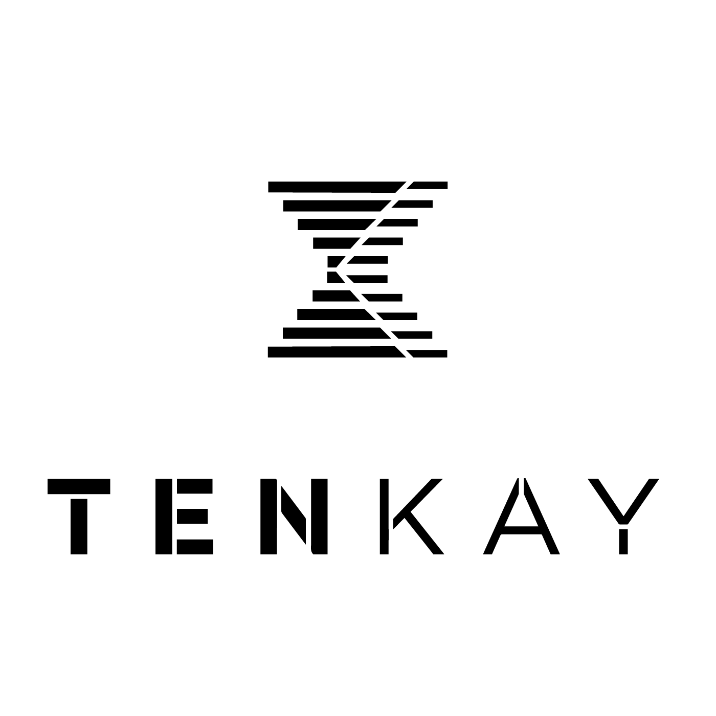 Tenkay Logo Play Outline